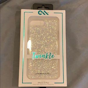 case mate iPhone 8 Plus twinkle case NIB